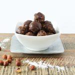 Chocolate Hazelnut Fudge Bites