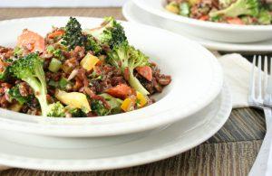 Sesame Ginger Rice Salad