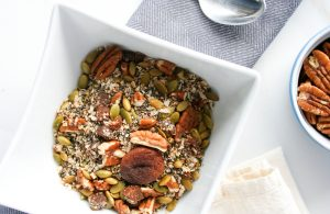 Toasted Pecan and Pumpkin Seed Chia Seed Cereal