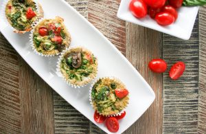 Basil & Egg Muffin Cups
